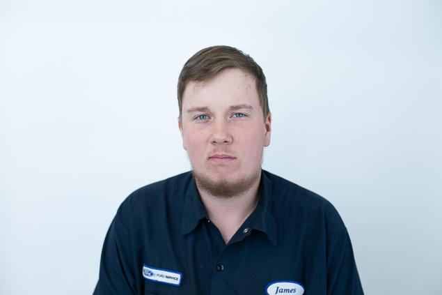 James Sherren : Apprentice Technician